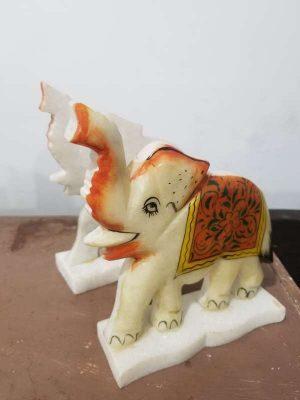 Sujeta Libros Elefantes En Granito Hermosas No Comunes