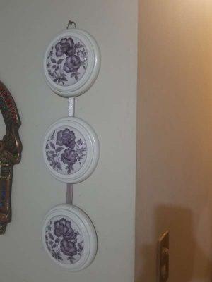 Lindos Medallones Decorativos De Pared Vintage