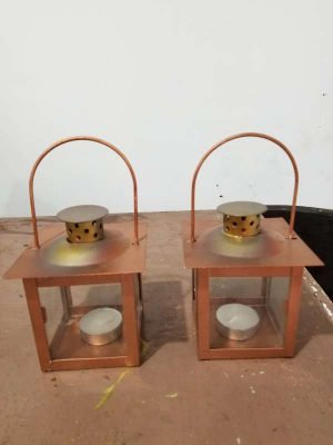 Hermosos Candelabros-candeleros Metal
